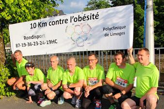 10 km contre l'obésité - Polyclinique de Limoges